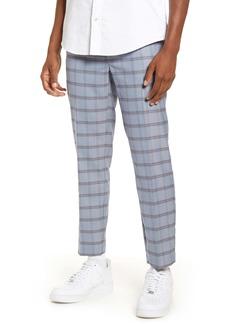 Topman Violets Check Skinny Fit Dress Pants