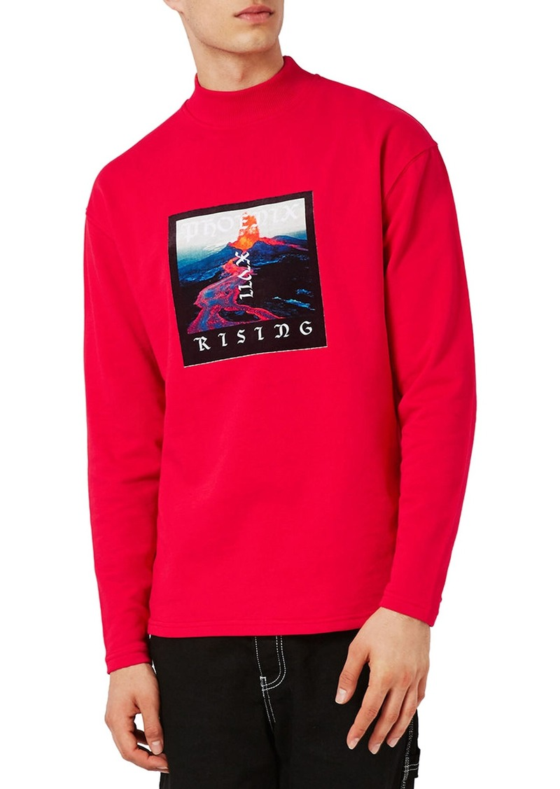 Topman Urban Idols Graphic Sweatshirt Discount Get Authentic oJ54rpcch3