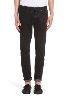 Topman Washed Slim Fit Jeans