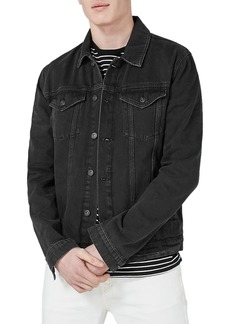 Topman Western Denim Jacket