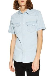 Topman Western Denim Shirt