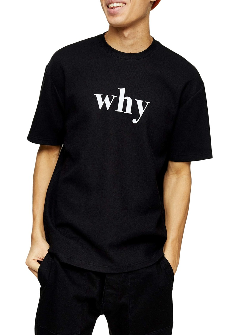 Topman Why Graphic T-Shirt