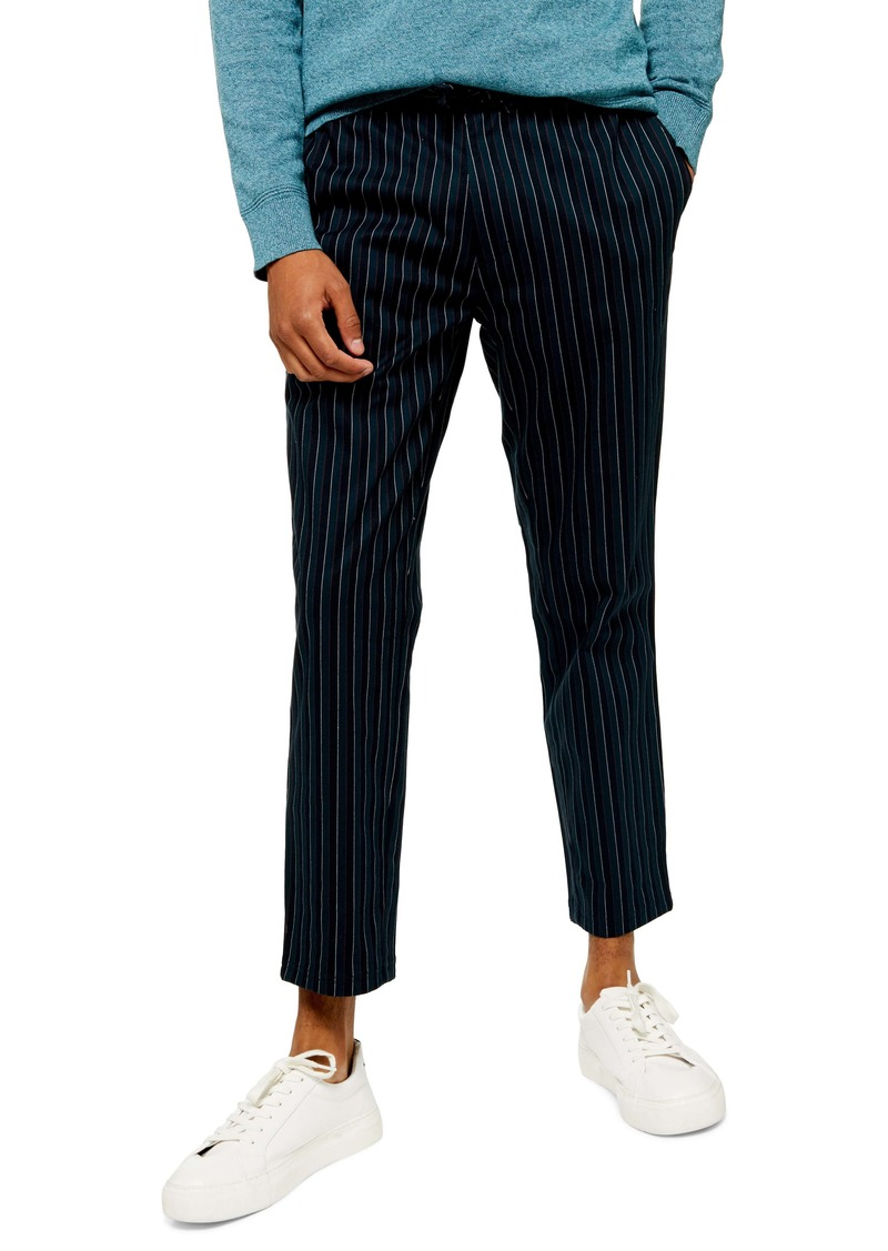 Topman Whyatt Polo Stripe Skinny Pants