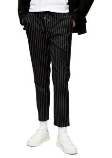 Topman Whyatt Stripe Trousers
