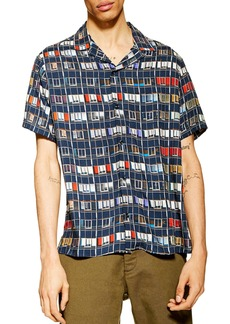 Topman Window Print Shirt