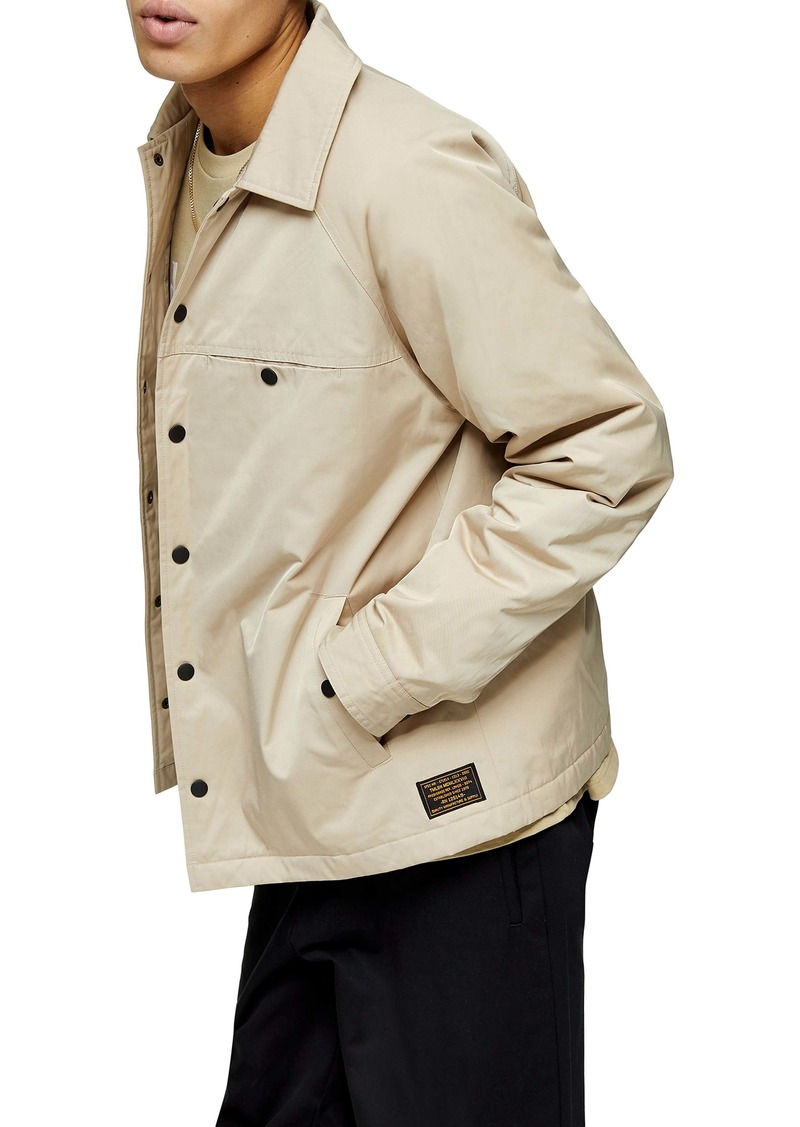Topman Classic Fit Coach Jacket