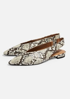 Topshop Abella Slingback Shoes