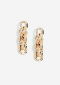 Topshop Absail Thread Drop Earrings