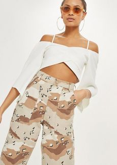 Topshop Angel Sleeve Bardot Top