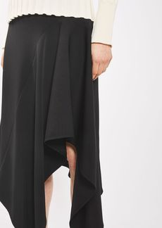 Asymmetric Hem Skirt By Boutique