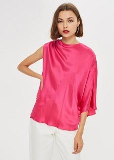 Topshop Asymmetric Kimono Top By Boutique