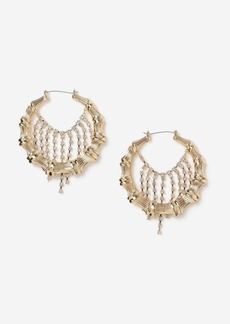 Topshop Bags Accessories /Jewelry /Bamboo Hoop Earrings
