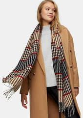 Topshop Bags Accessories /Scarves /Boucle Stitch Check