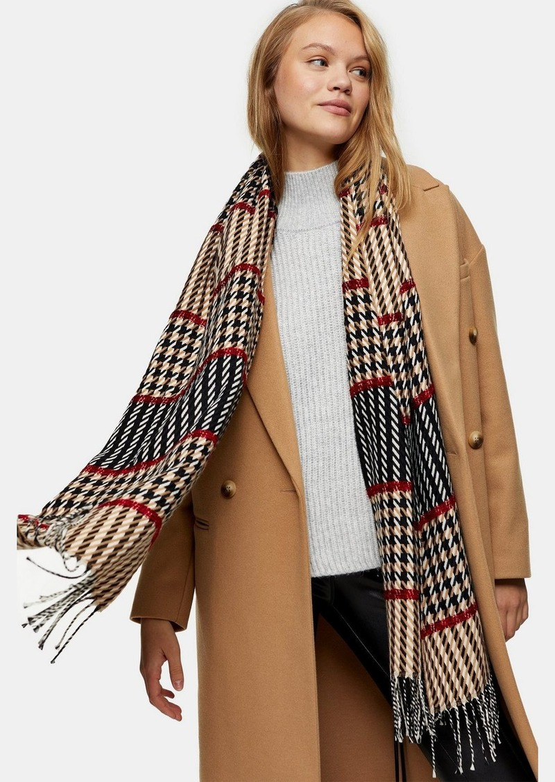 Bags Accessories /Scarves /Boucle Stitch Check