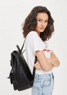 Topshop Bailey Ring Detail Backpack