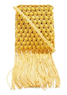 Topshop Beaded Fringe Crossbody Bag