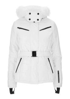 Belted Ski Jacket By Topshop Sno