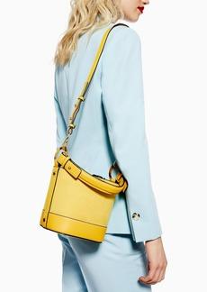 Topshop Betty Tortoiseshell Ring Buckle Bag
