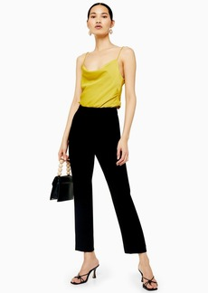 Topshop Sale /Up To  Off Selected Lines /Black Straight Cigarette Pants