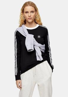 Black  Stripe T Shirt By Adidas