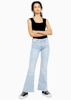 Bleach Flare Jeans By Topshop Boutique
