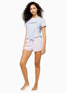 Topshop Blush Weekend Pyjama Set