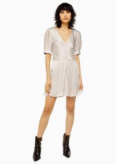 Topshop Idol Burnout Mini Dress