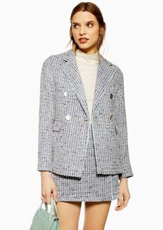 Topshop Button Boucle Jacket