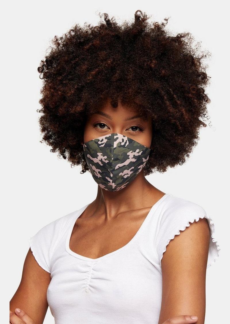 Topshop Clothing /New Semester /Camo Face Mask