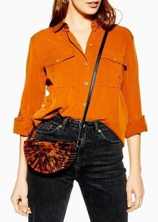 Topshop Cancun Acrylic Cross Body Bag