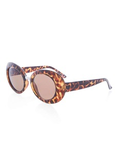 Topshop Candice Oval Sunglasses