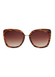 Capricorn Tortoiseshell Sunglasses By Quay Australia