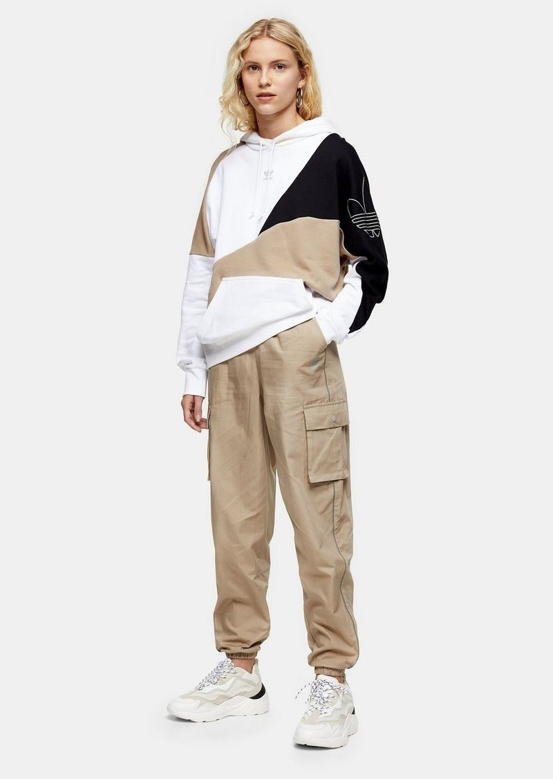 Khaki Cargo Pants By Adidas