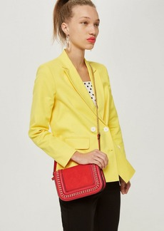Topshop Carmel Chain Flap Cross Body Bag