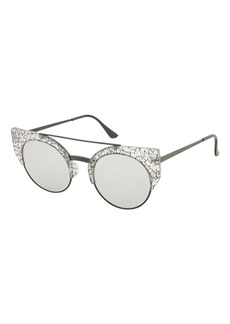 Topshop Carrey Browbar Sunglasses