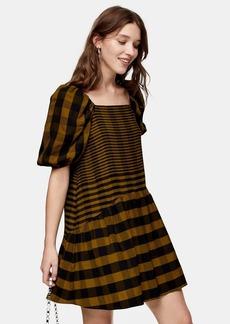 Topshop Check Mini Dress