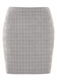 Check Pelmet Skirt