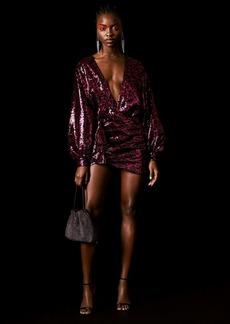 Cheetah Sequin Skirt By Topshop X Halpern