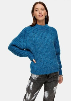 Topshop Chunky Sweater With Wool