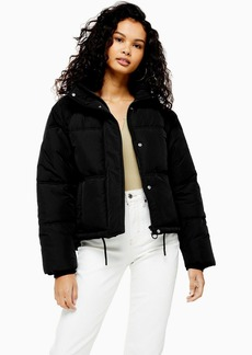 Topshop Classic Black Padded Puffer Jacket