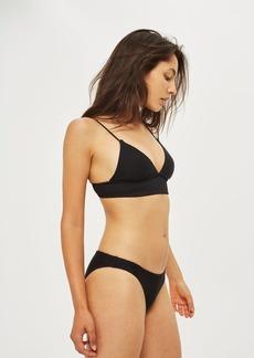 Topshop Classic Ribbed Bikini Bottoms