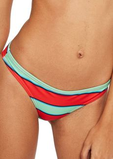 Topshop Classic Stripe Bikini Bottoms