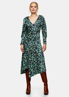 Clothing /Dresses /Sleeve Detail Midi Dress