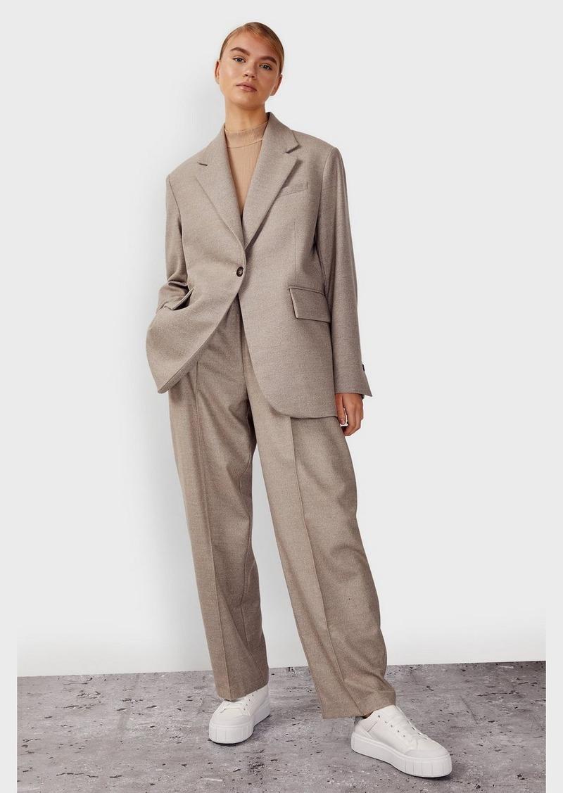 Clothing /Jackets Coats /Oversized Flannel Blazer