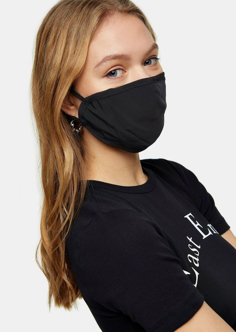 Topshop Clothing /New Semester /Plain Black Fashion Face Mask