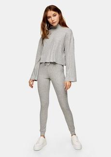 Topshop Clothing /Pants /New Brush Rib Jegger