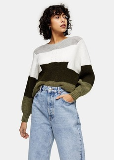Topshop Clothing /Sweaters Knits / Dir Rib Col Blk
