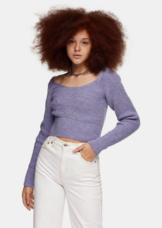 Topshop Clothing /Sweaters Knits /Ctcballoon Slv Jmp