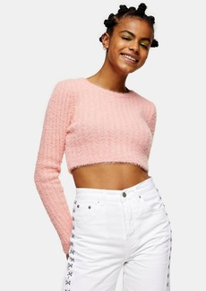 Topshop Clothing /Sweaters Knits /Fluffy Rib Crop