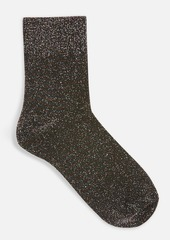 Topshop Clothing /Tights Socks /Deep Welt Glitter Socks